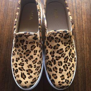 Women's MIA Leopard Slip on Sneaker